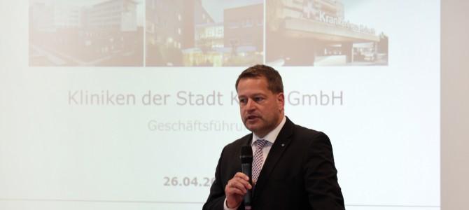 Pressearbeiten für die Kliniken der Stadt Köln
