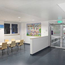 Das neue Wimmelbild in der Kinderklinik Amsterdamer Strasse