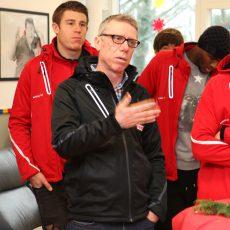 1. FC Köln im Kinderkrankenhaus