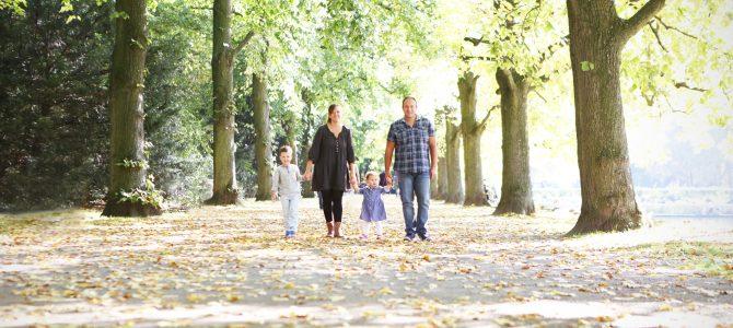 herbstliche Familienportraits